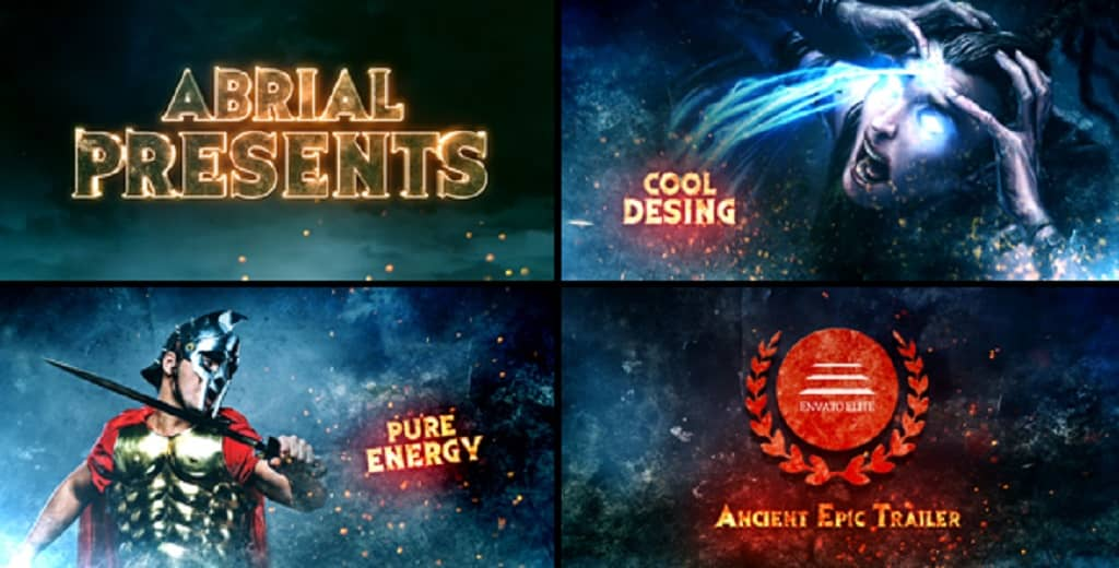 trailer after effects template